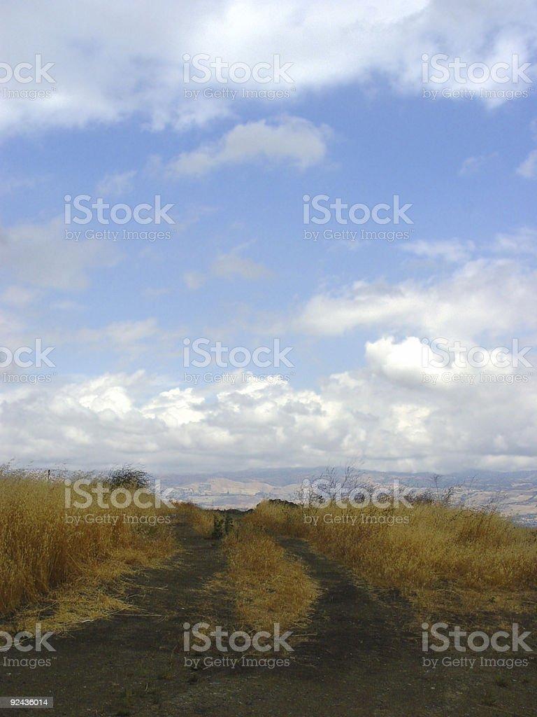 California hills (1) royalty-free stock photo