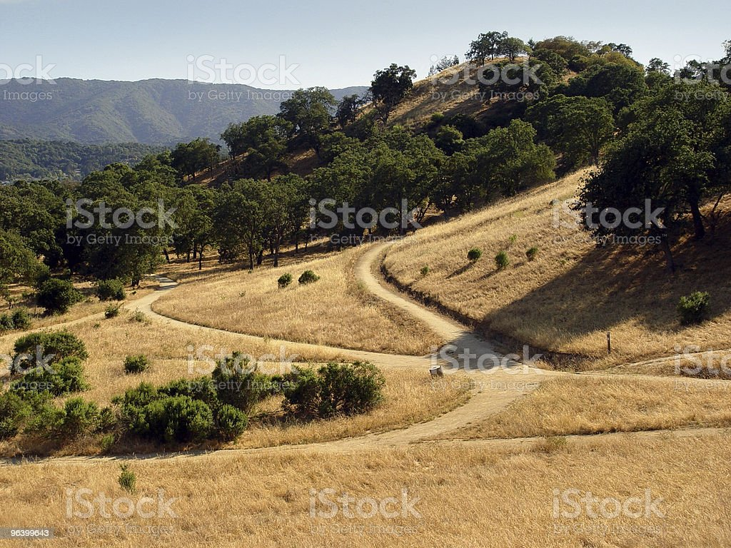 California hills (2) royalty-free stock photo