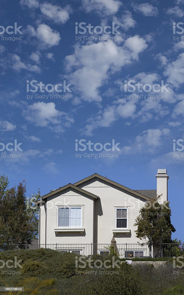 California Home stock photo