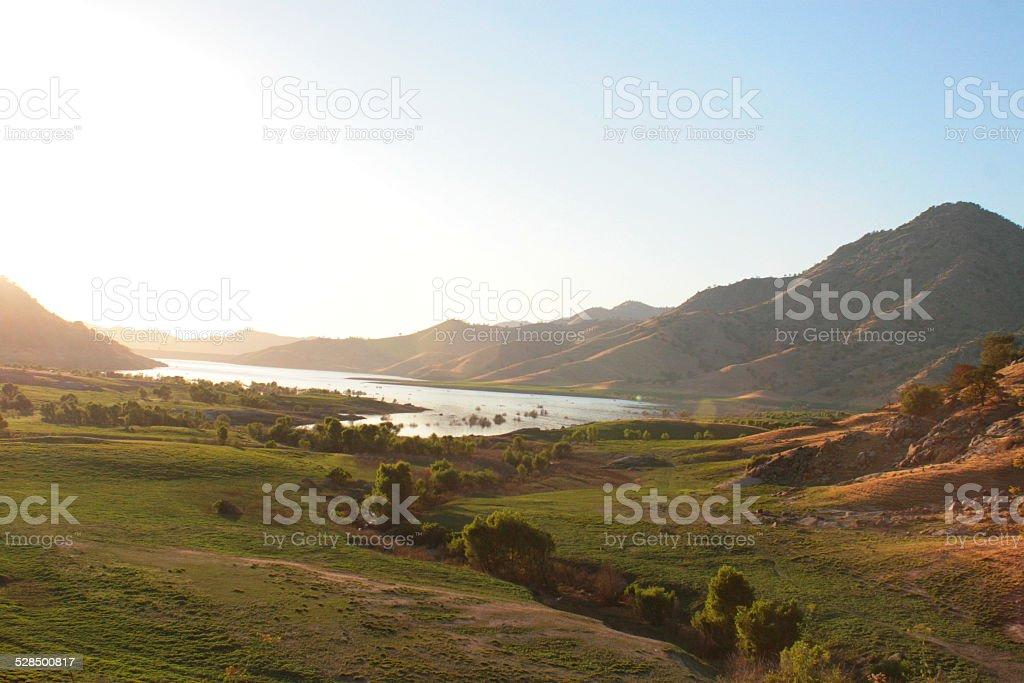 California landscape stock photo