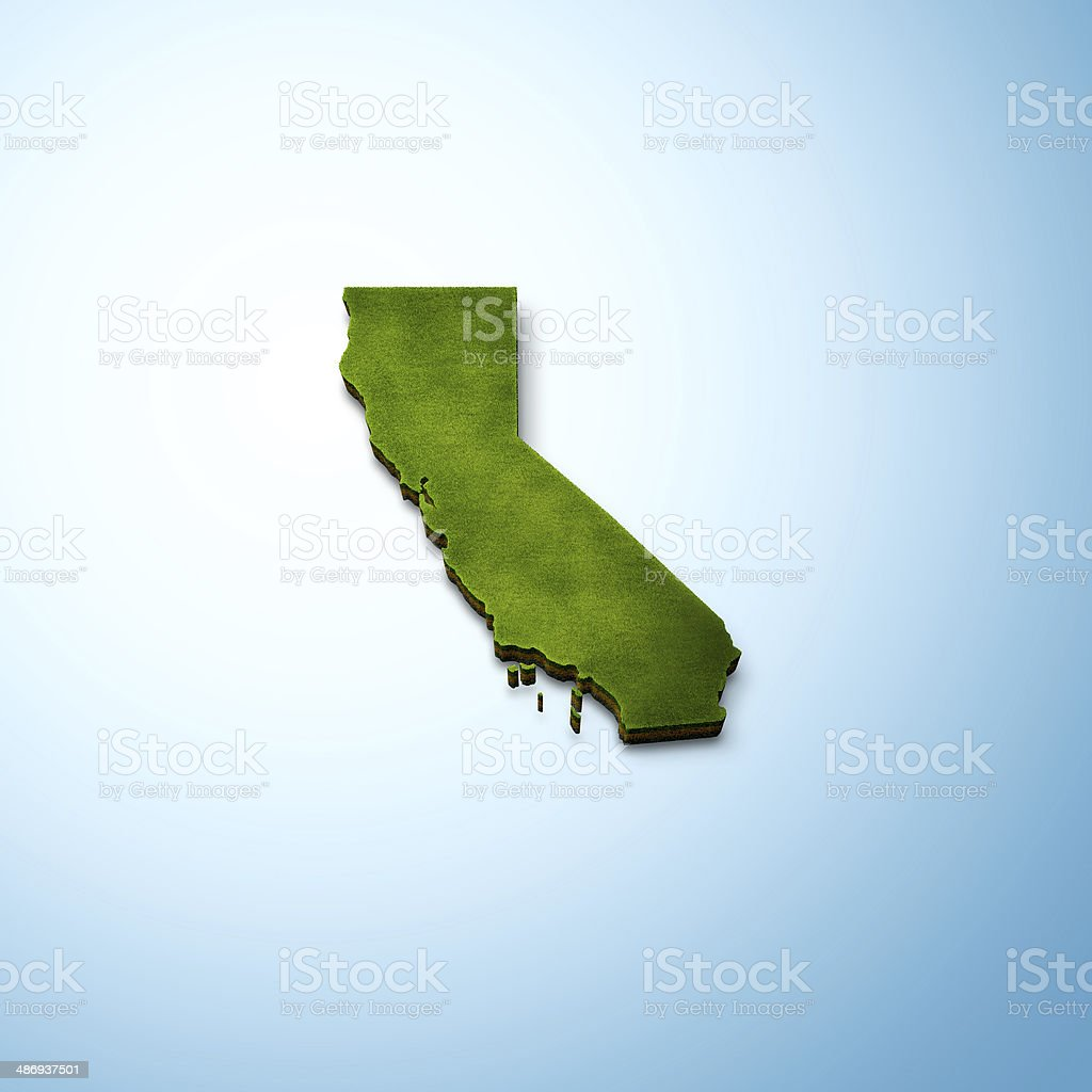 California Map stock photo