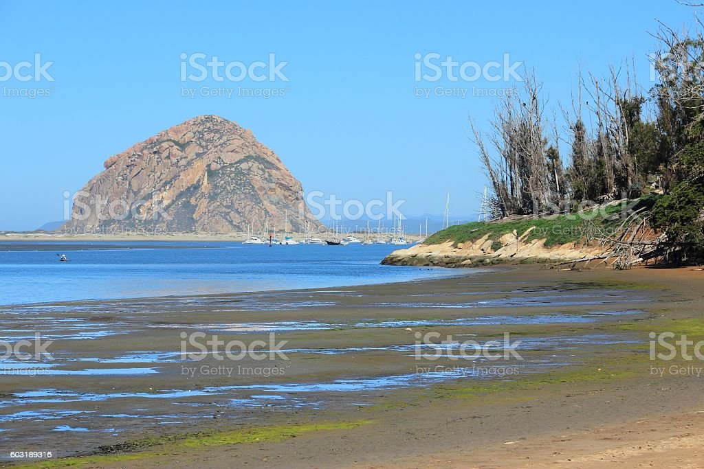 California Morro Bay stock photo