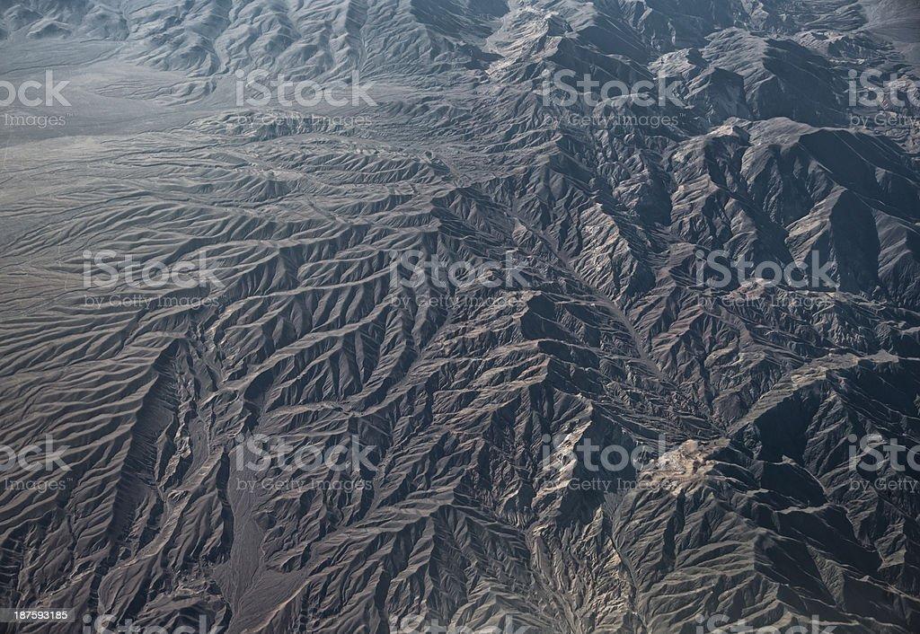 California mountains stock photo