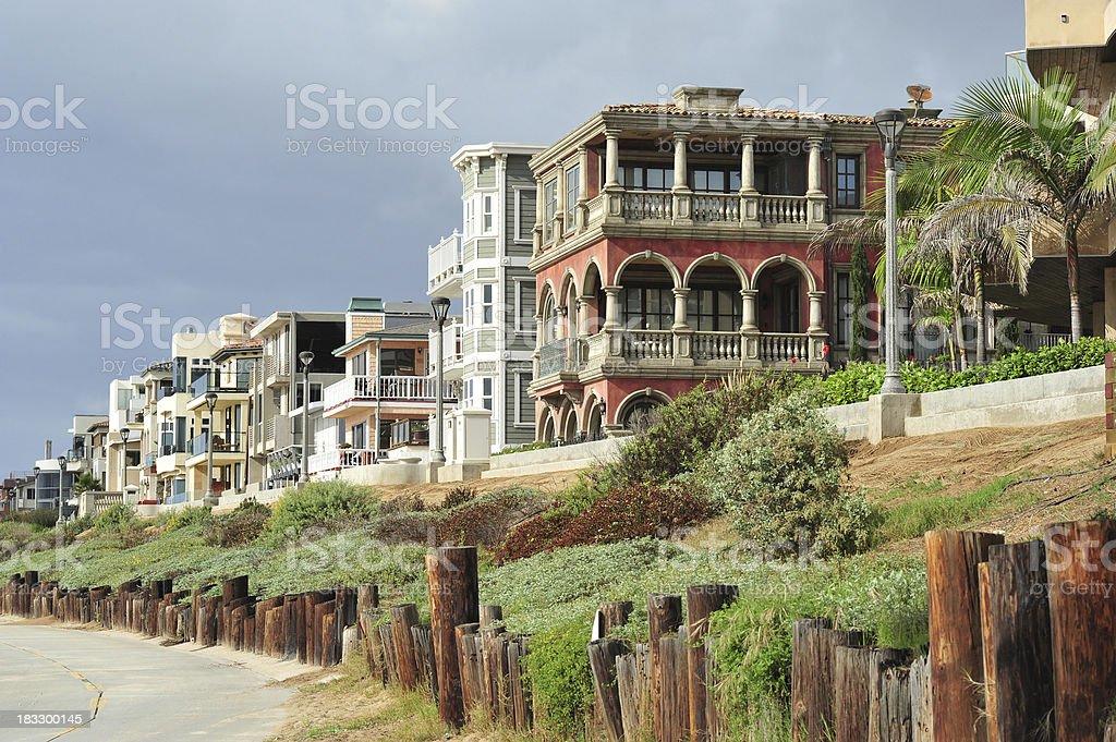 California neighbourhood royalty-free stock photo