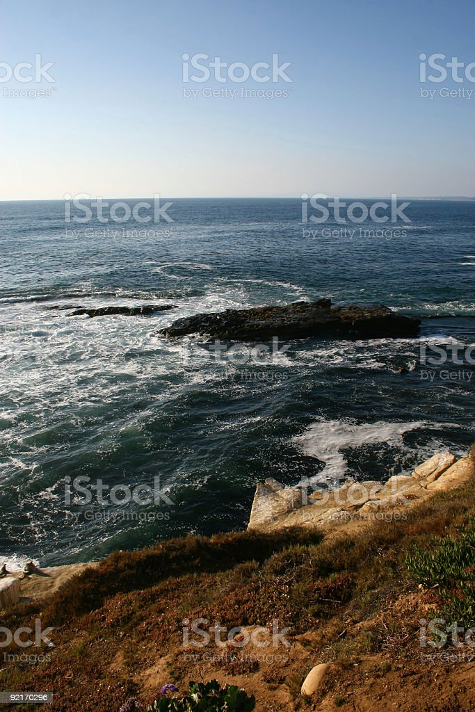 California Pacific Coast royalty-free stock photo