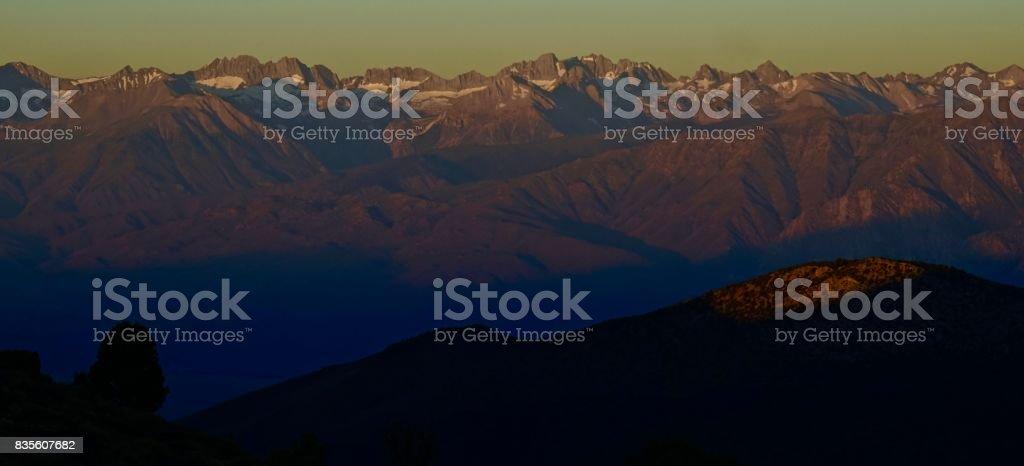 California Range Of Light stock photo