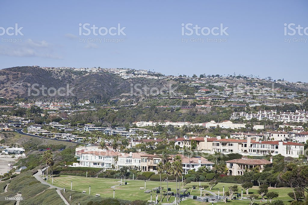 California Real Estate royalty-free stock photo