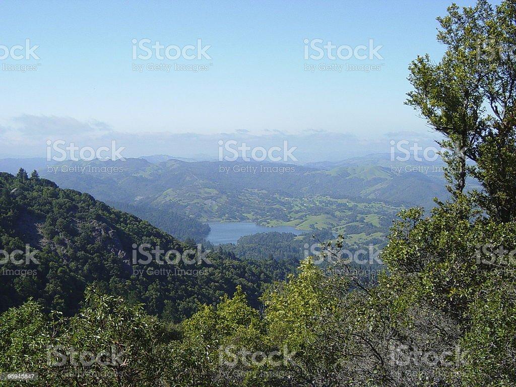 Réservoir de Californie photo libre de droits