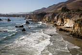 California rocky coast