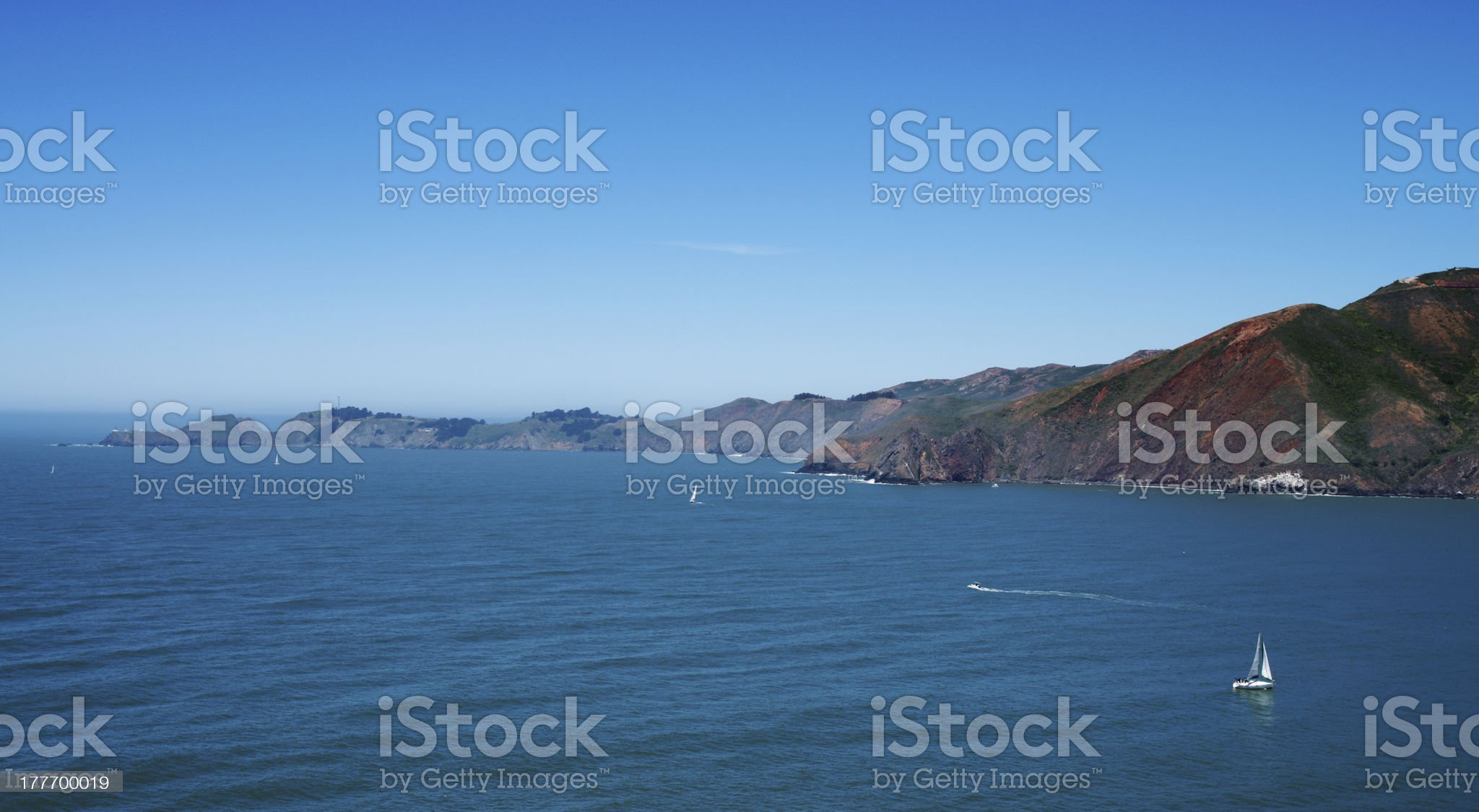California shore royalty-free stock photo