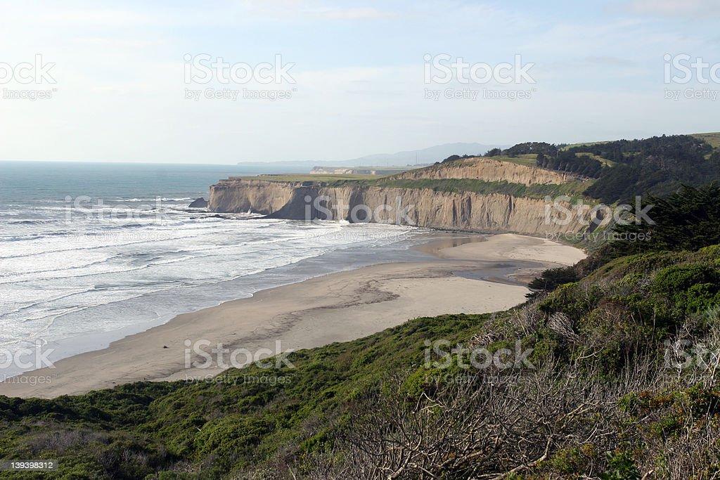 California Shoreline stock photo