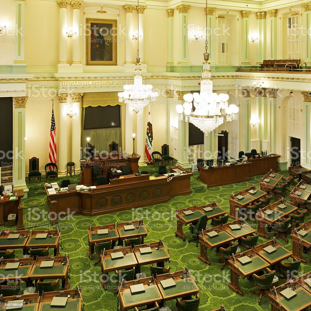 California State Assembly - Sacramento  stock photo