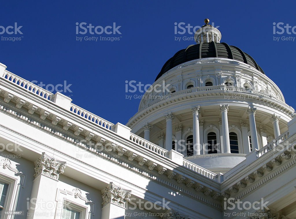California State Capital royalty-free stock photo