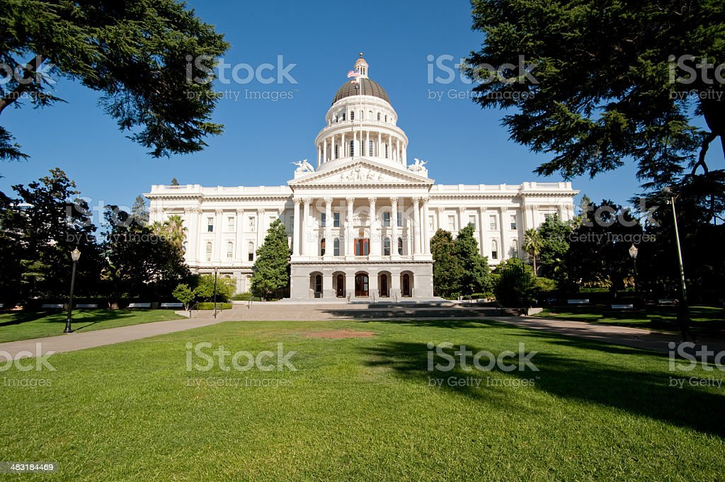 California State Capital stock photo