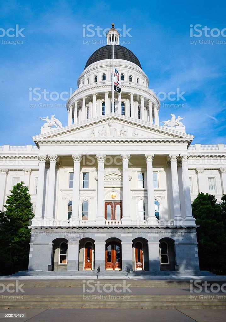 California State Capitol building stock photo