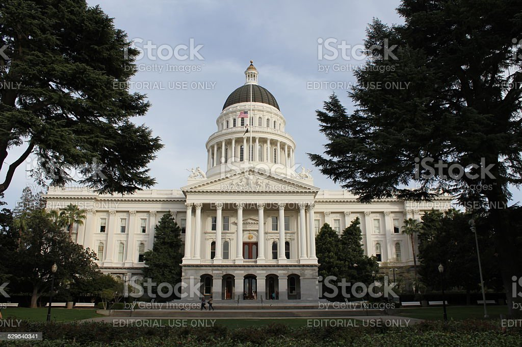 California State Capitol stock photo