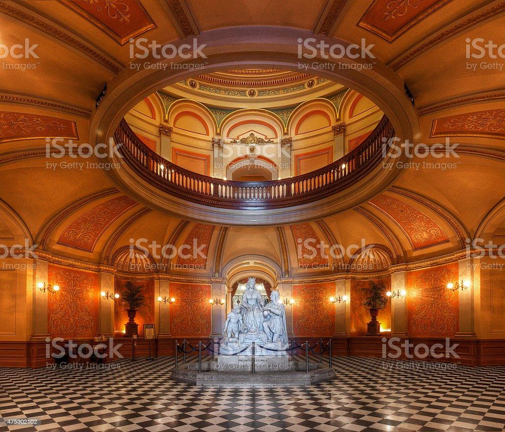 California State Capitol Rotunda stock photo