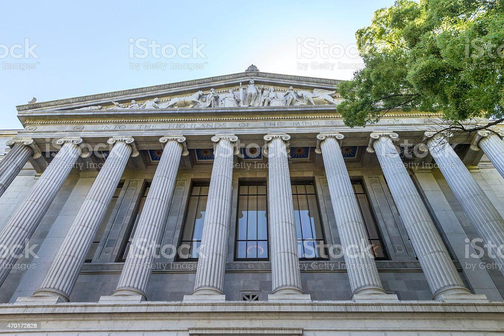 California State Courthouse Building in Sacramento, CA, USA stock photo