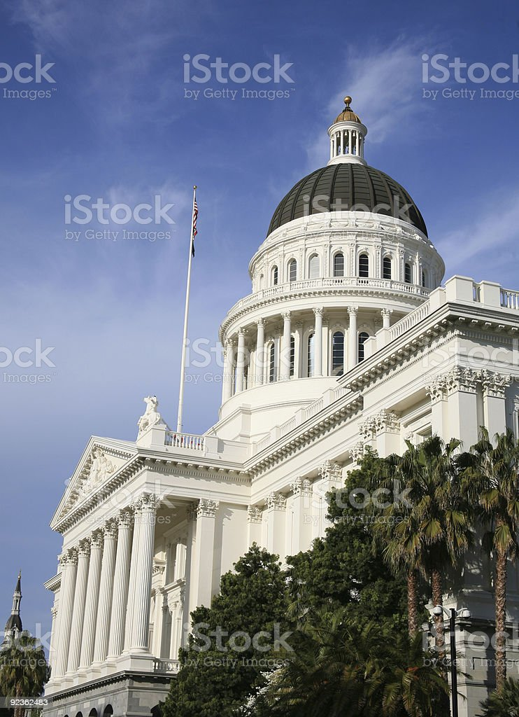 California State Government stock photo