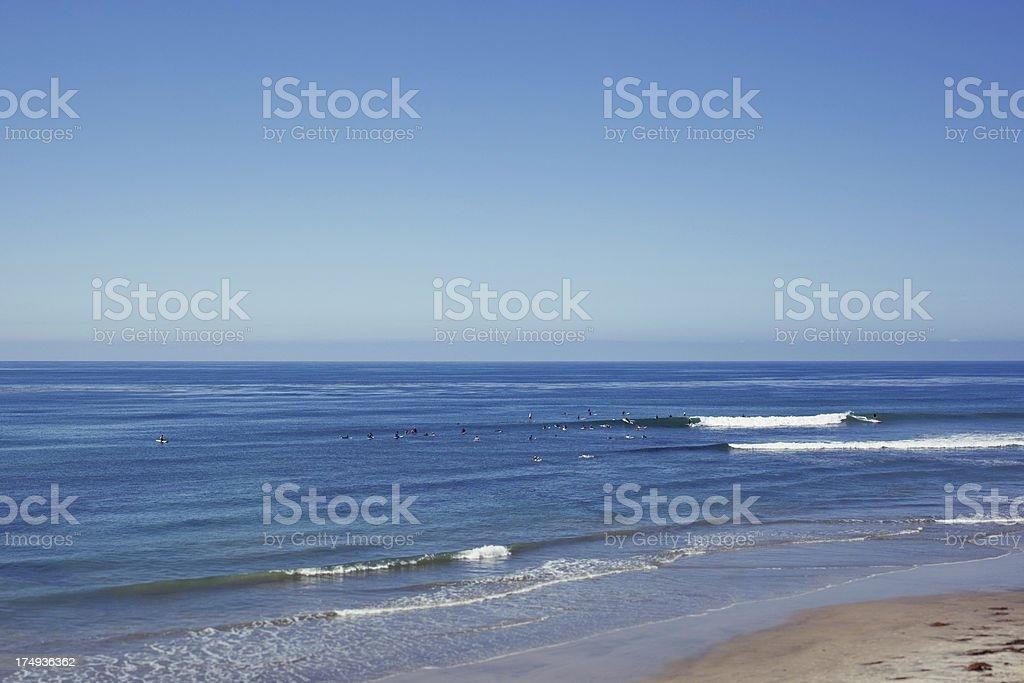 California Surf stock photo