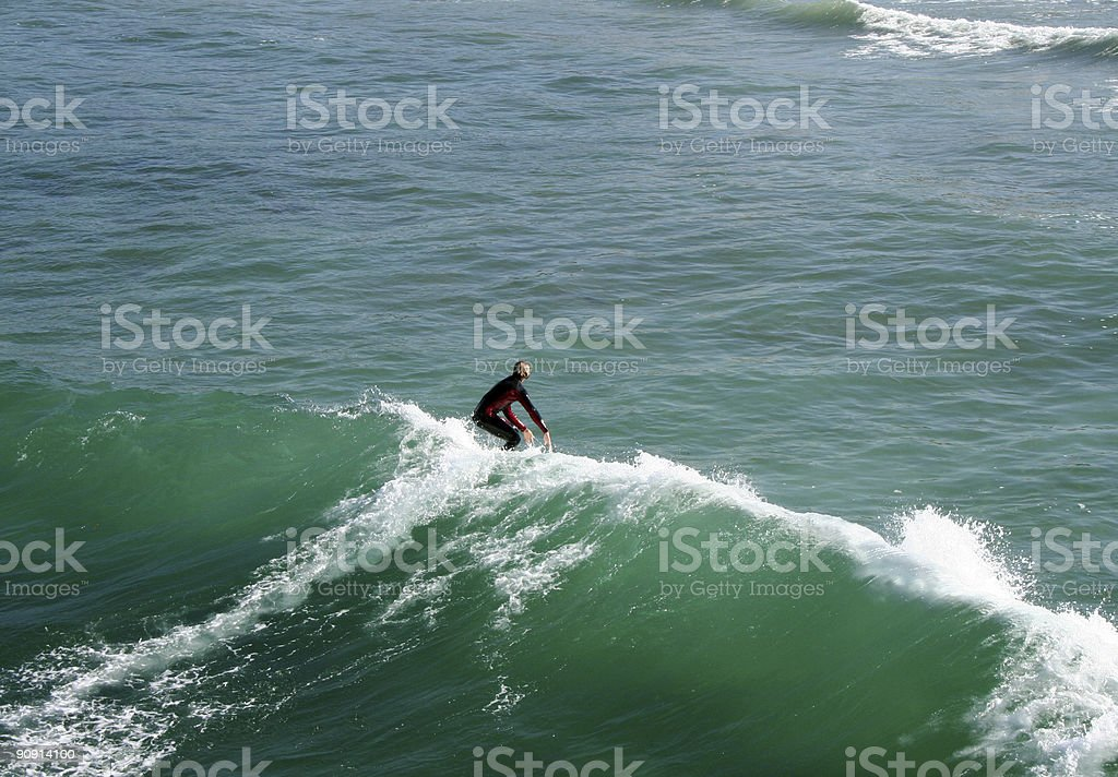 California Surfer stock photo