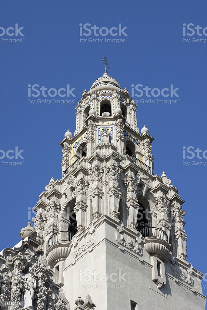California Tower in San Diego stock photo