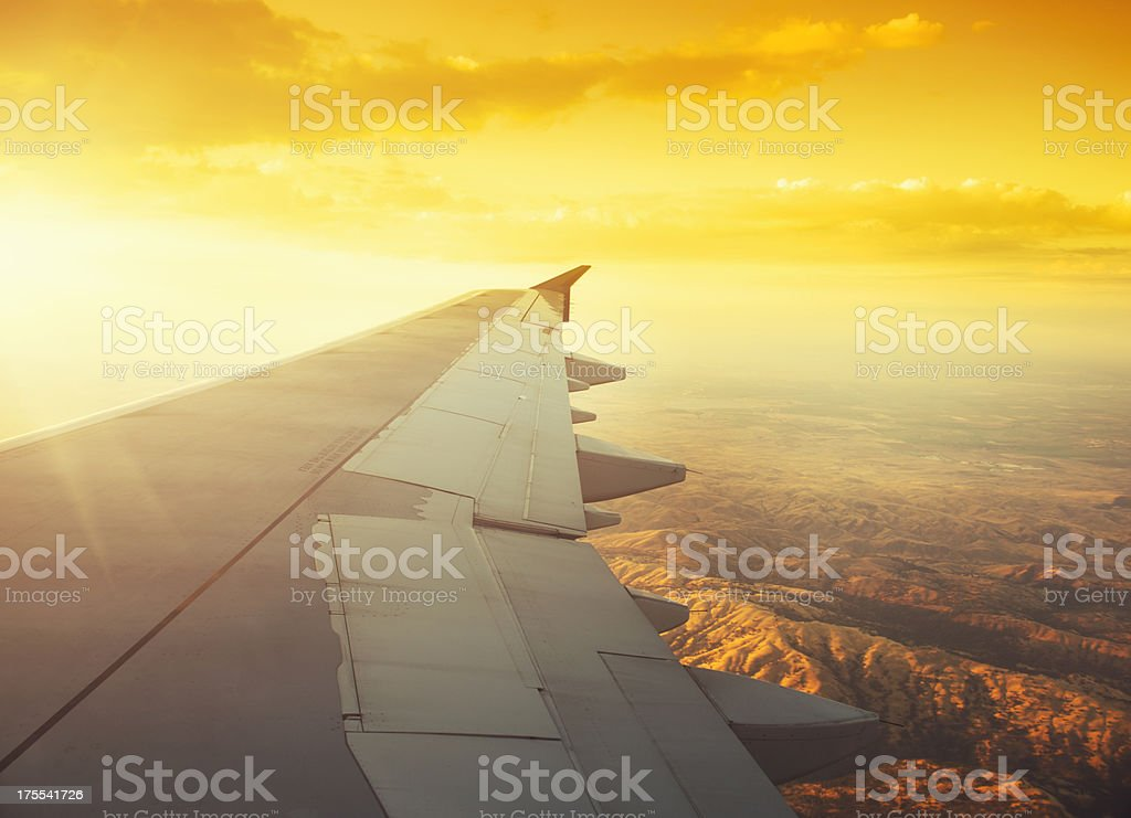 California view from above royalty-free stock photo