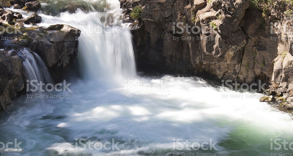 California Waterfall stock photo
