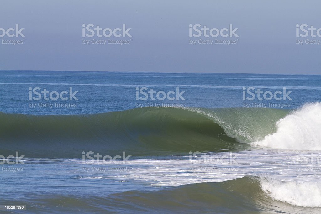 California wave royalty-free stock photo