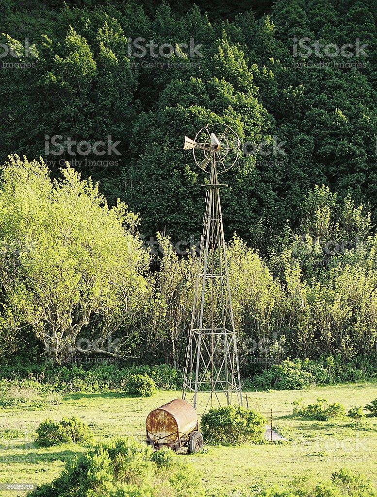 California Windmill royalty-free stock photo