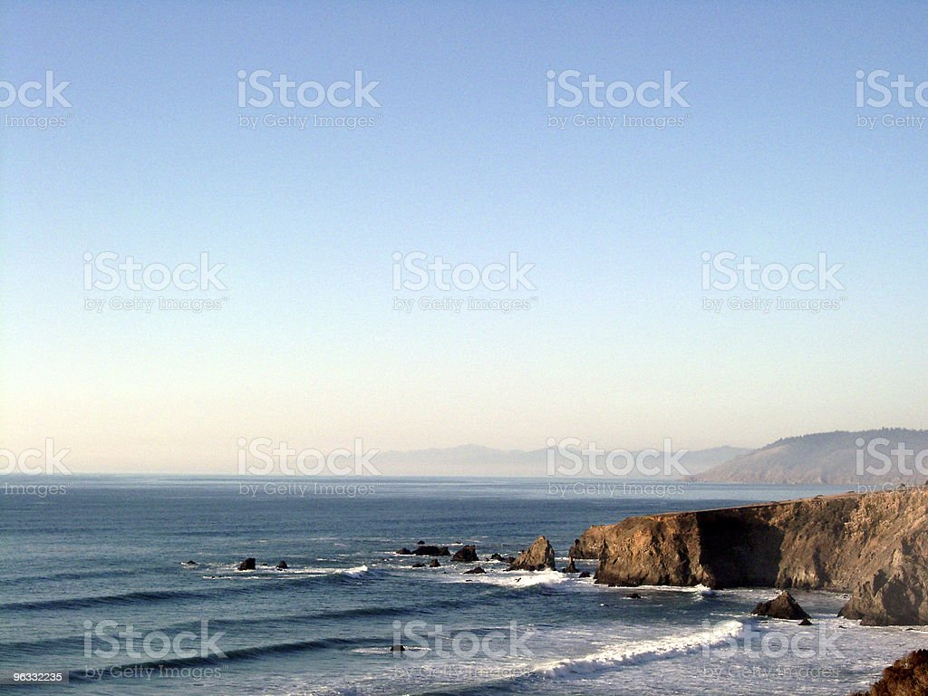 Californian Coast royalty-free stock photo