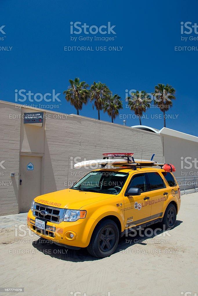 Californian lifeguard royalty-free stock photo