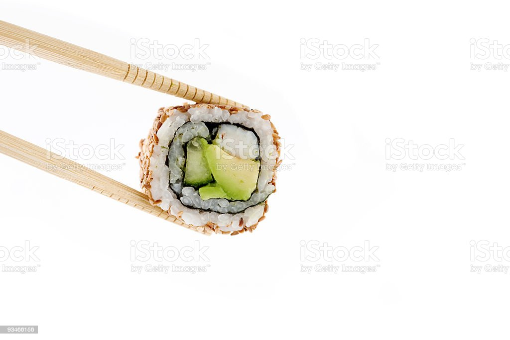 Californian Roll royalty-free stock photo