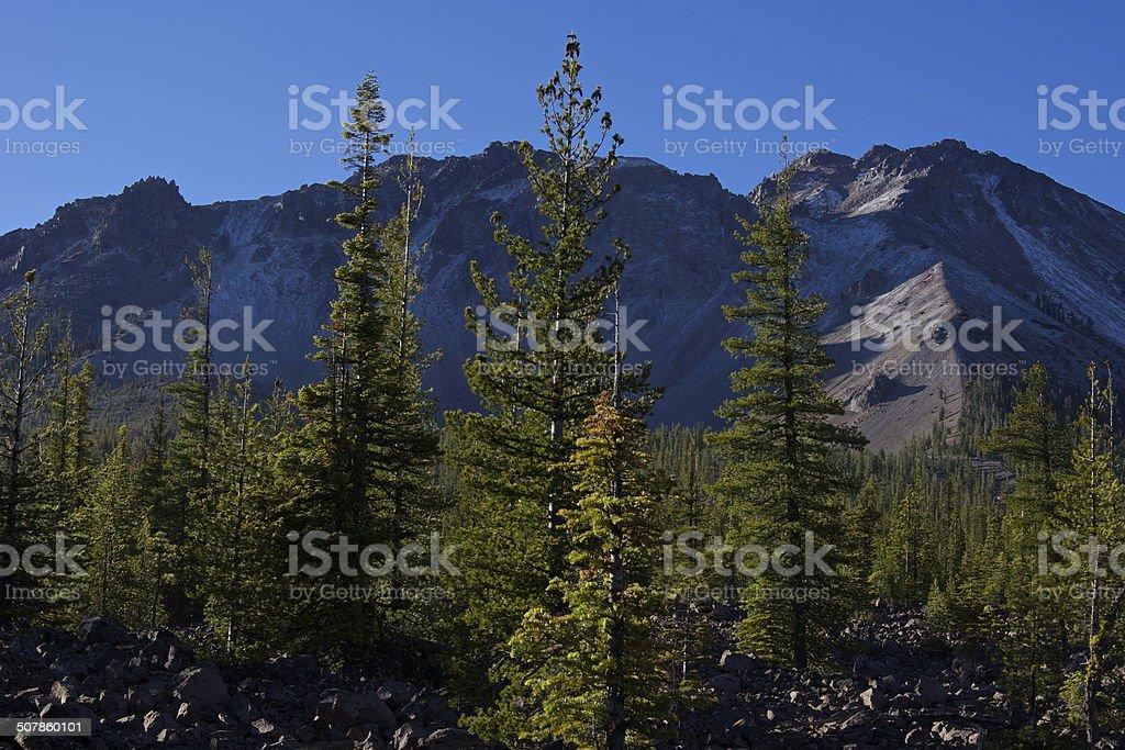 California's Chaos Crags stock photo