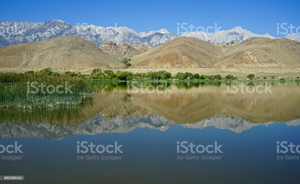 California's Diaz Lake stock photo