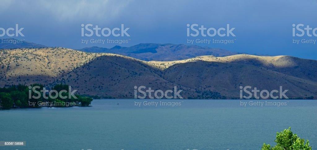 California's Topaz Lake stock photo