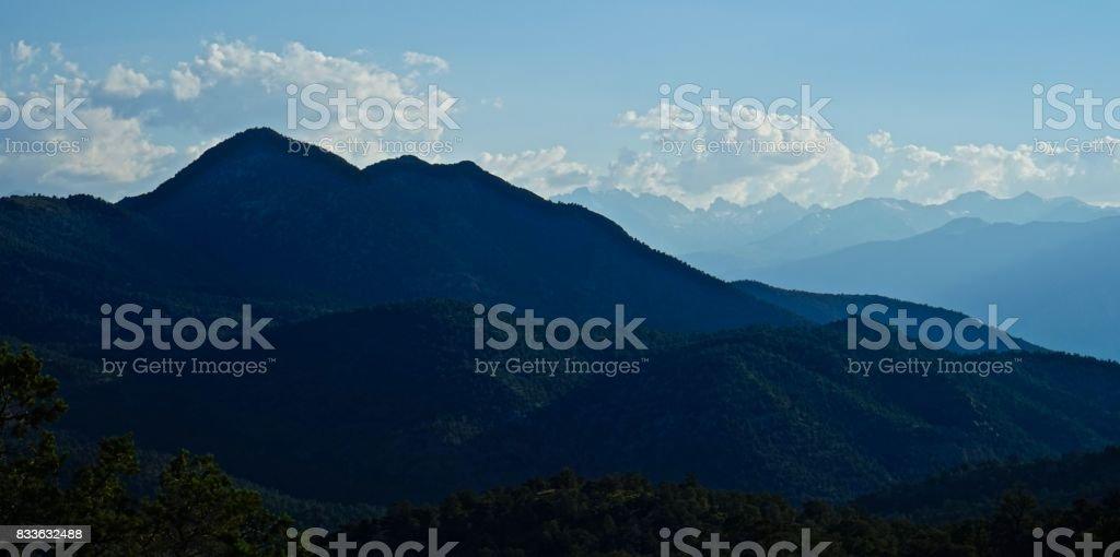 California's White Mountains stock photo