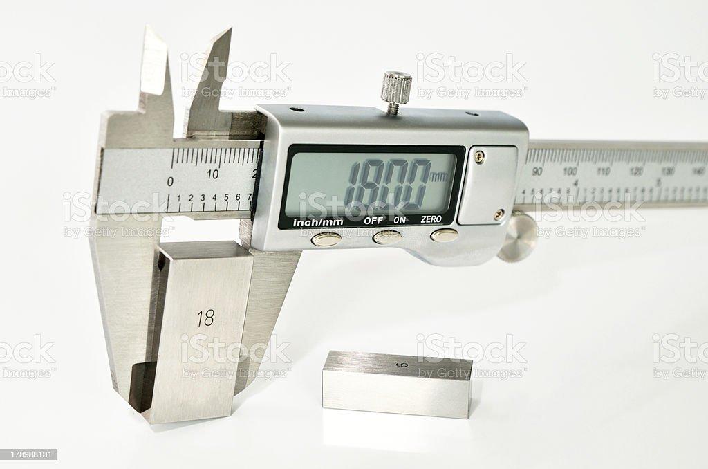 caliper calibration royalty-free stock photo