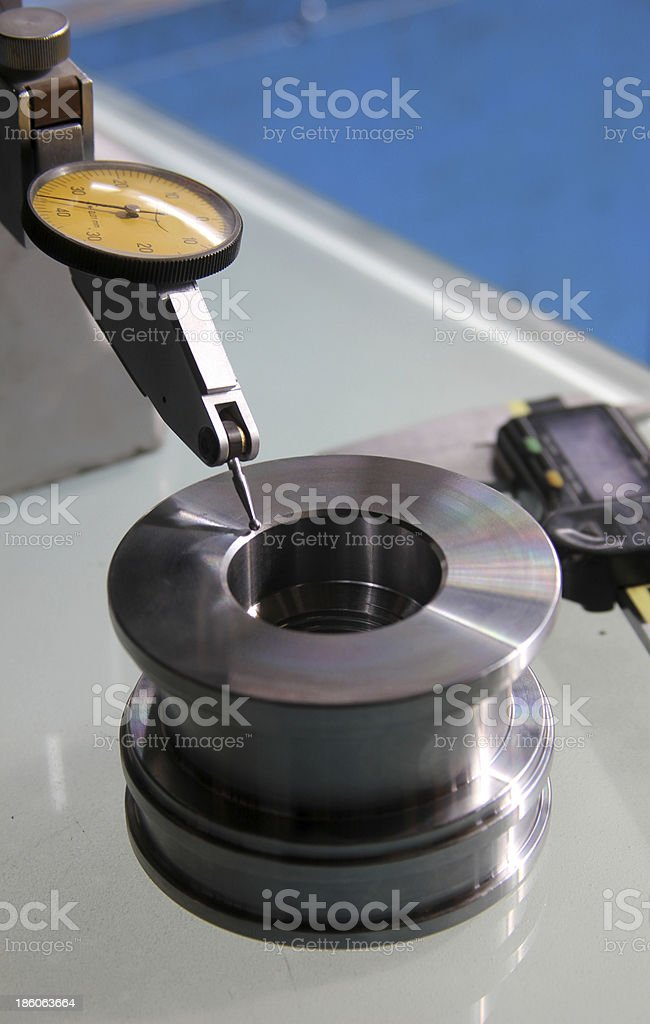 Caliper stock photo