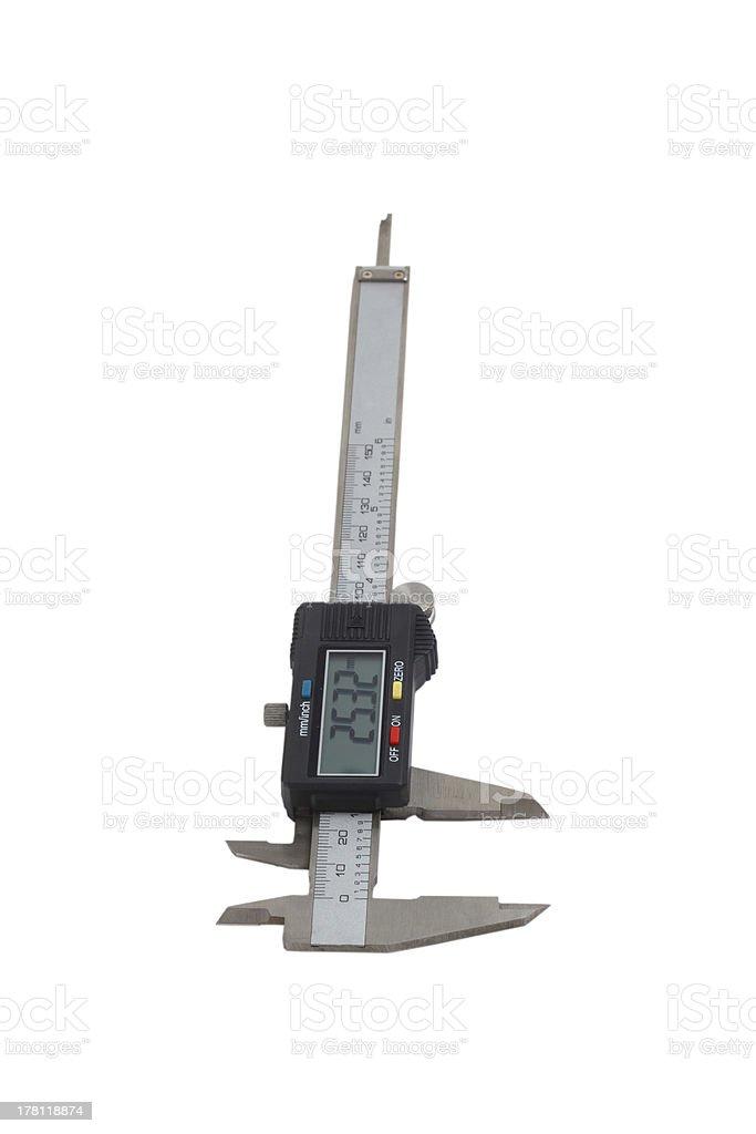 caliper tool gauge royalty-free stock photo