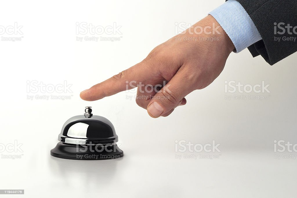 Call bell stock photo