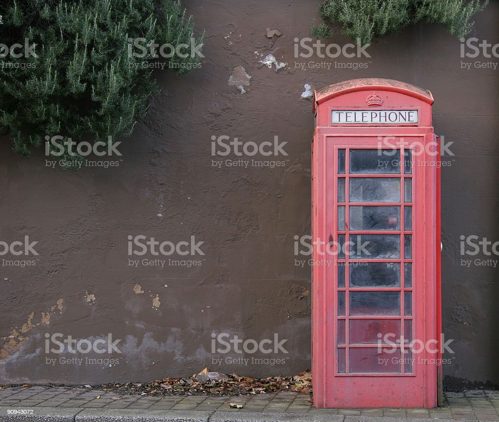 Call box royalty-free stock photo