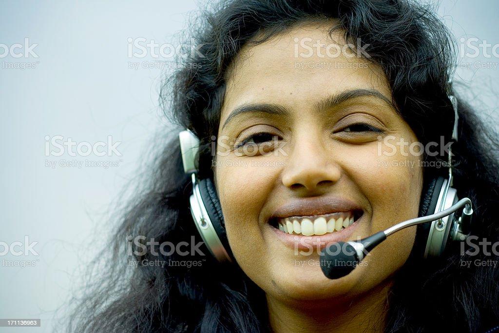 Call Center royalty-free stock photo