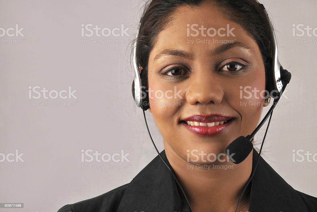 Call Centre stock photo
