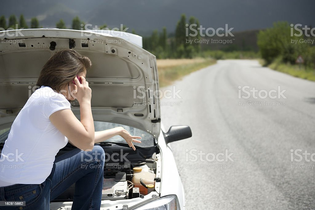 Call For Help royalty-free stock photo