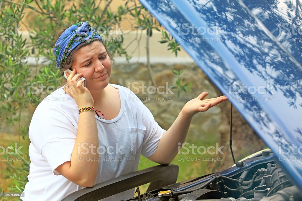 Call For Help stock photo