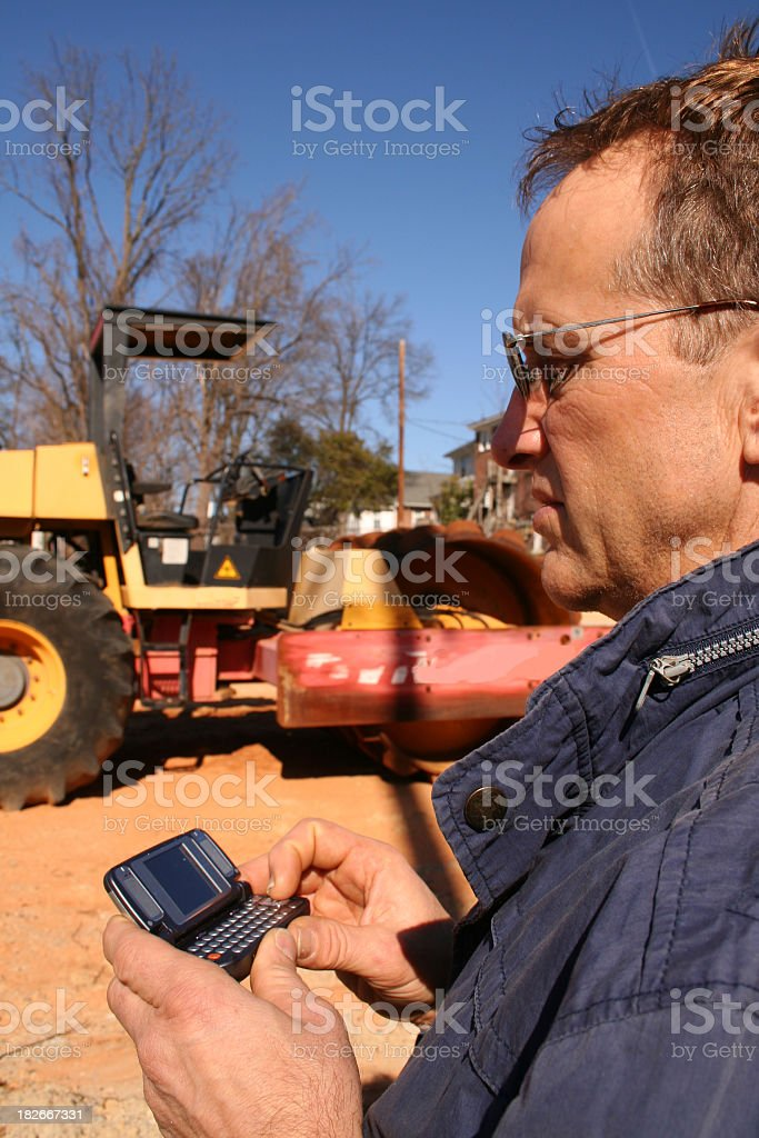 Call in the resources royalty-free stock photo