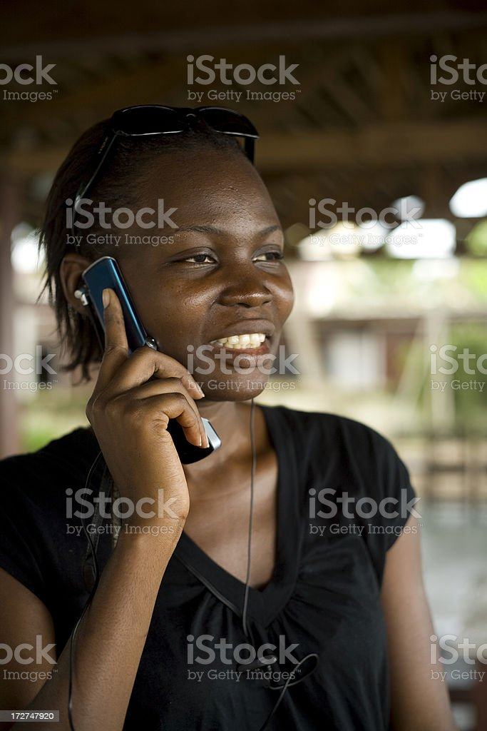 Call me back royalty-free stock photo