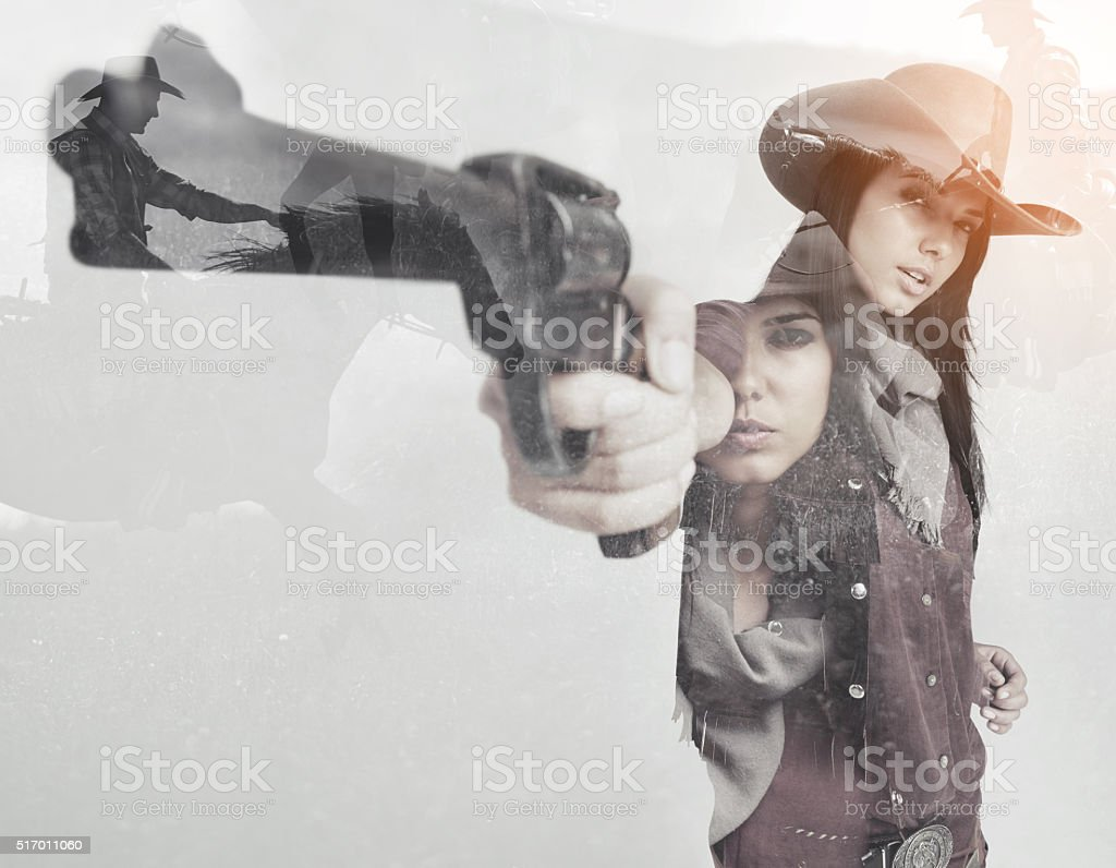 Call me ma'am one more time… stock photo