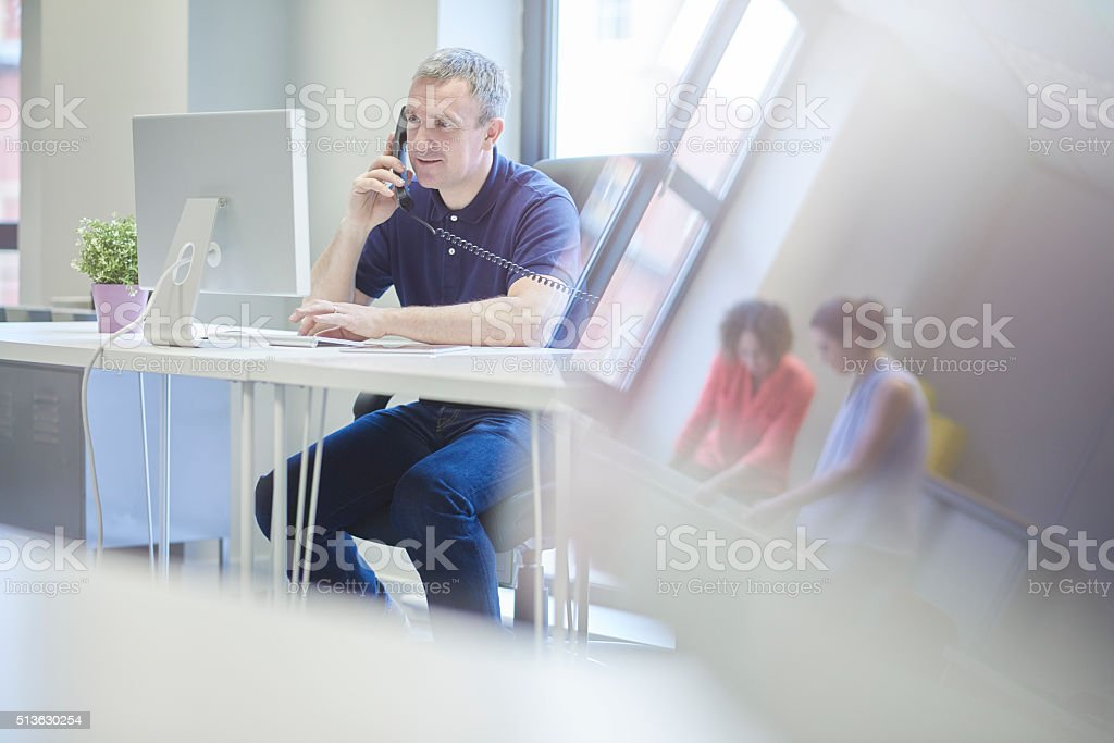 call me on the landline stock photo